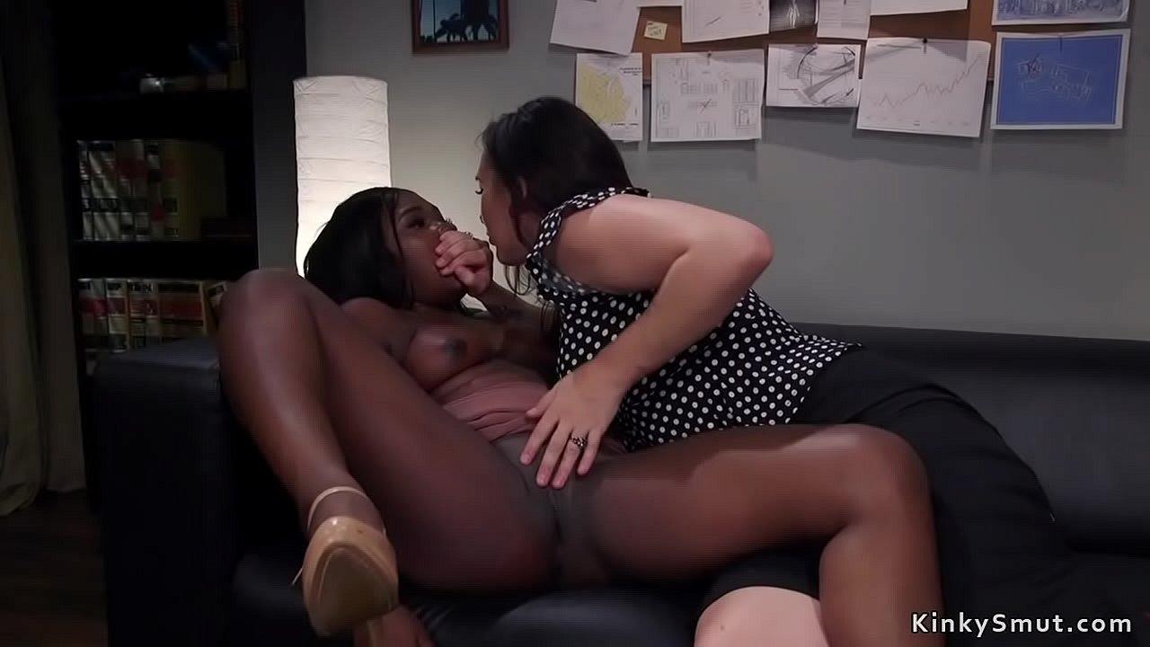 Homemade Ebony Riding Dick