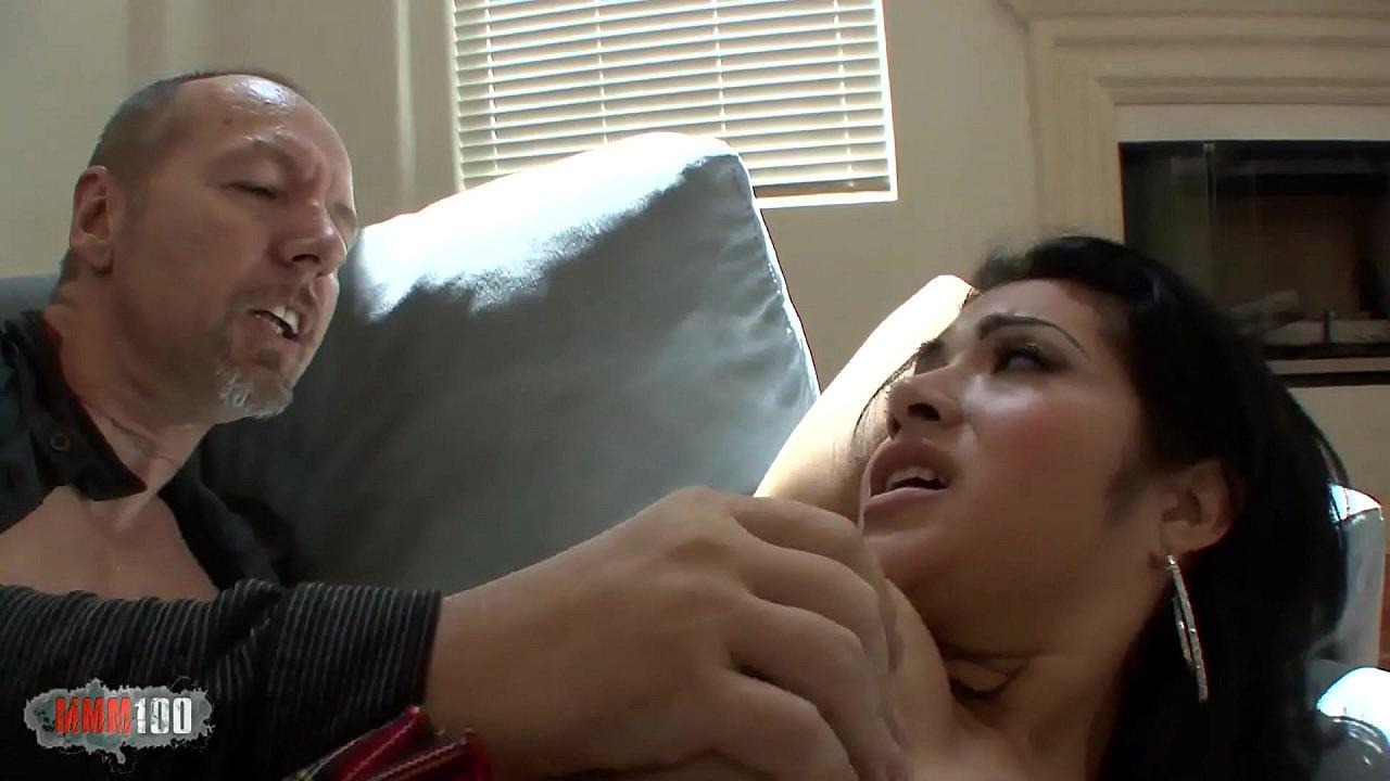 Old Man Eats Ebony Pussy