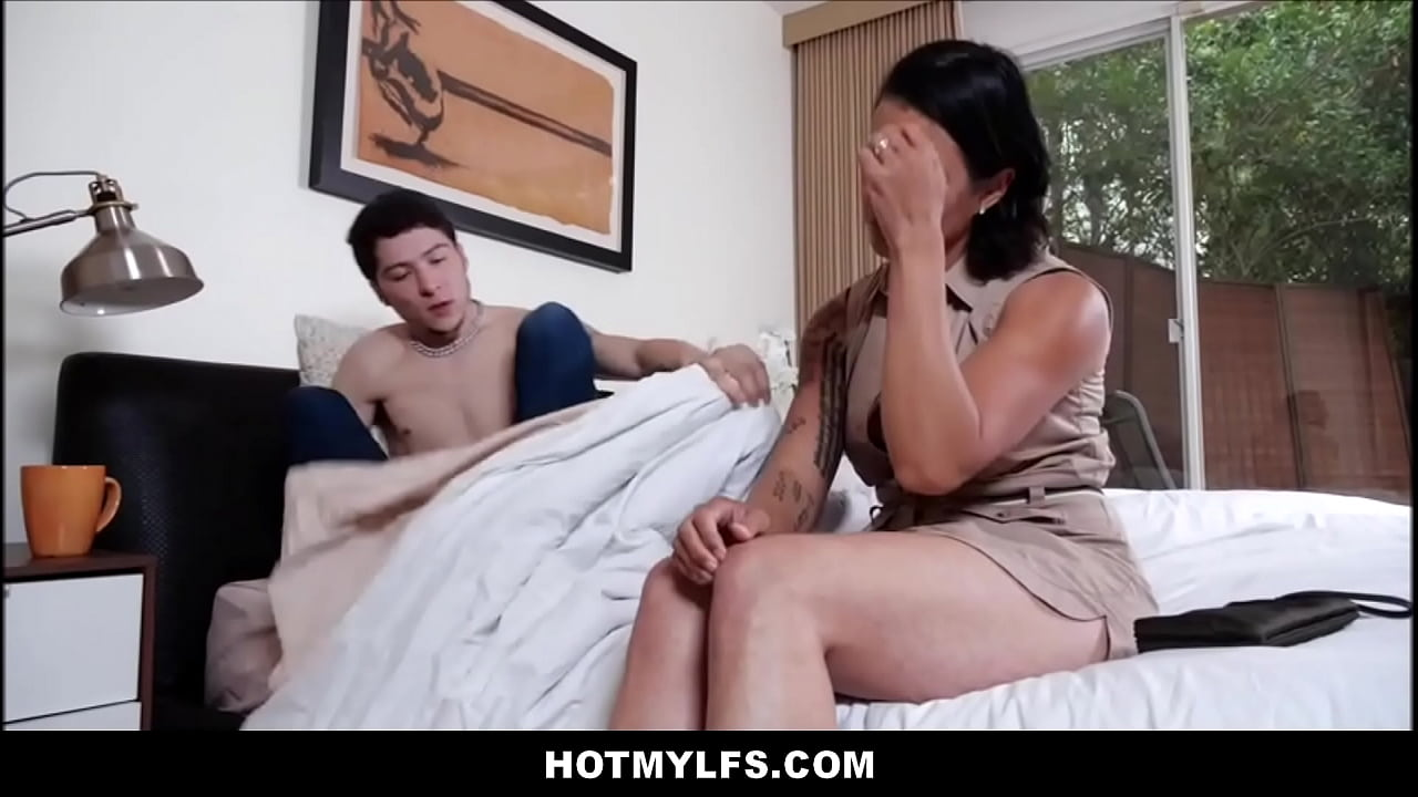 Step Mom Fucks Son First Time