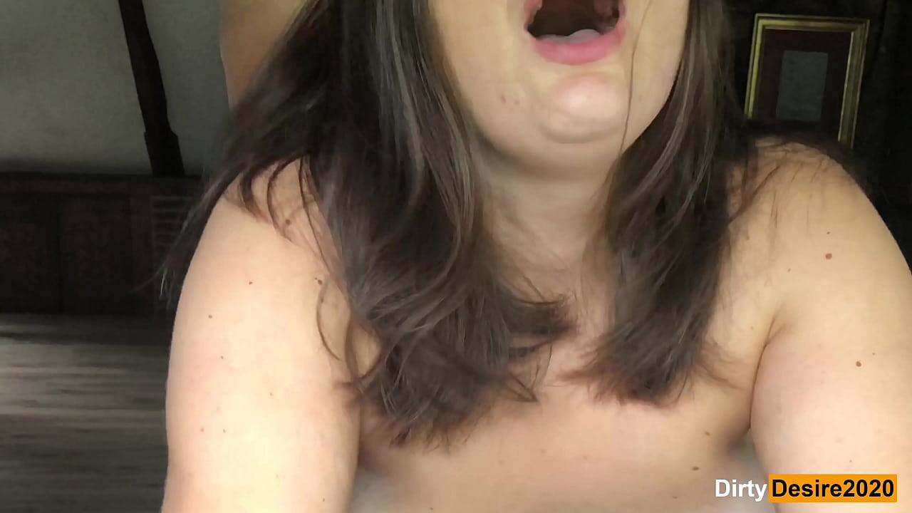 Woman having hard multiple orgasms