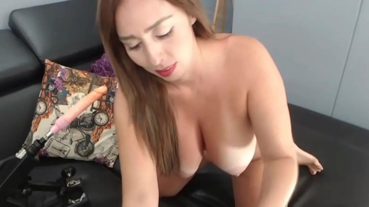 Curvy Latina Dildo Ride