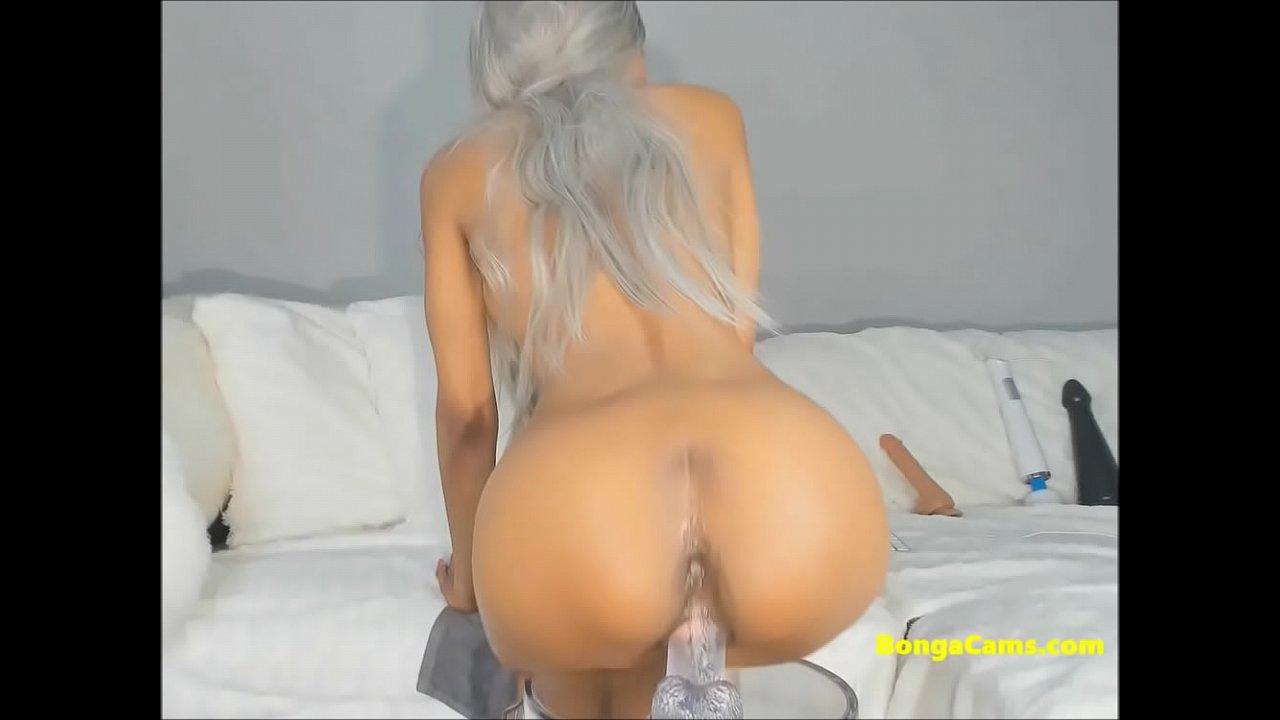 Sexy Strumpf Dildo Solo