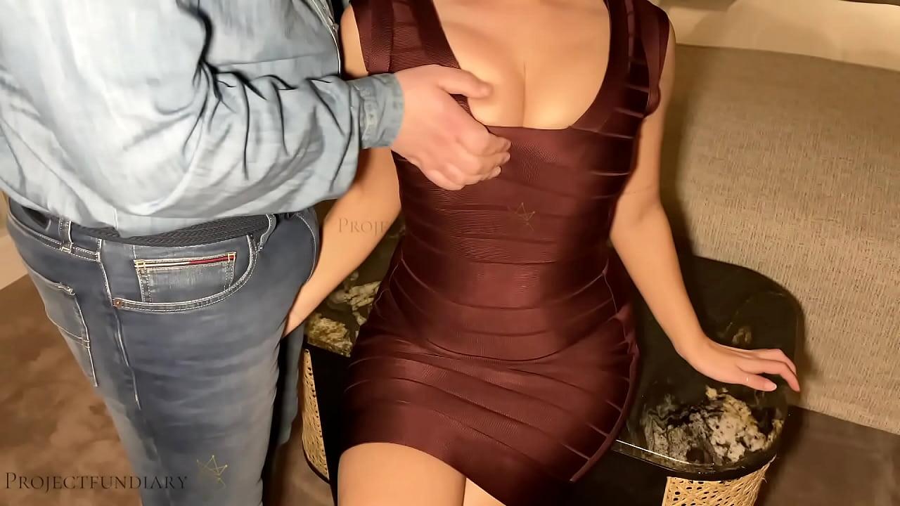Bodycon dress porn Luxury Escort Girl In Bodycon Hotel Sex Xnxx Com