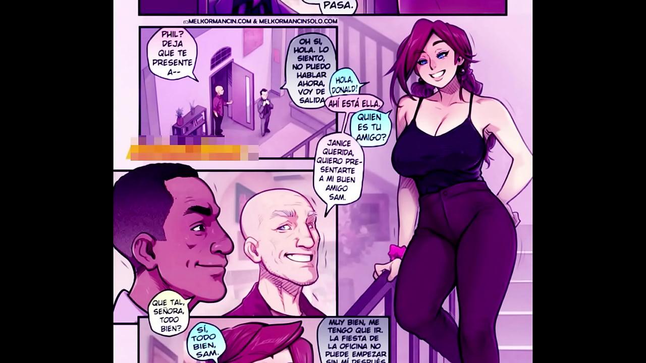 After Party Janice Sketch Comic Porno culona engaña asu marido con dos hombres pingones - xnxx
