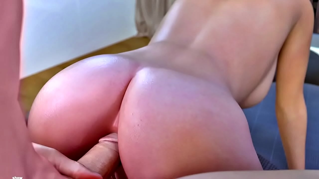 Blonde Big Ass Twerking Dick