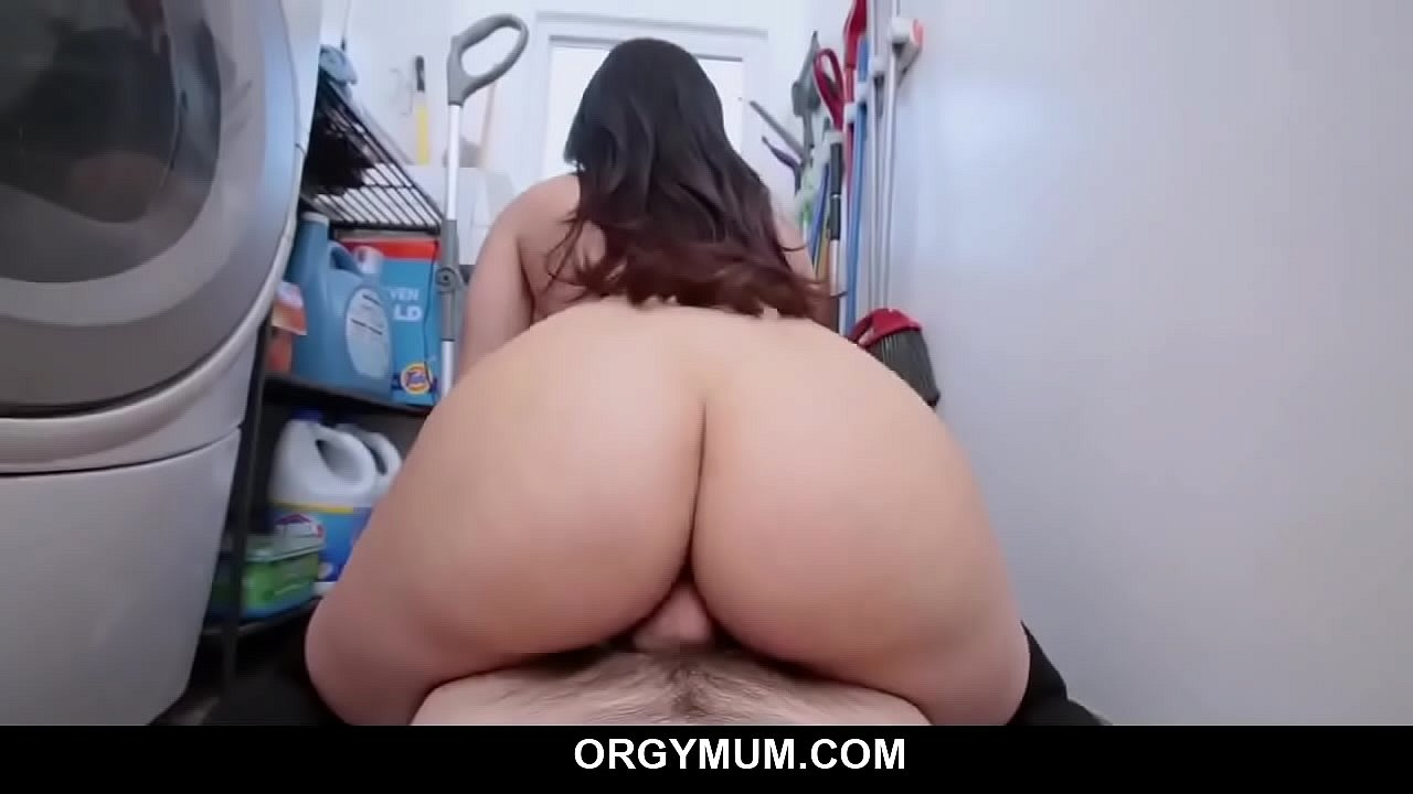 Son Fucks Step Mom Kitchen