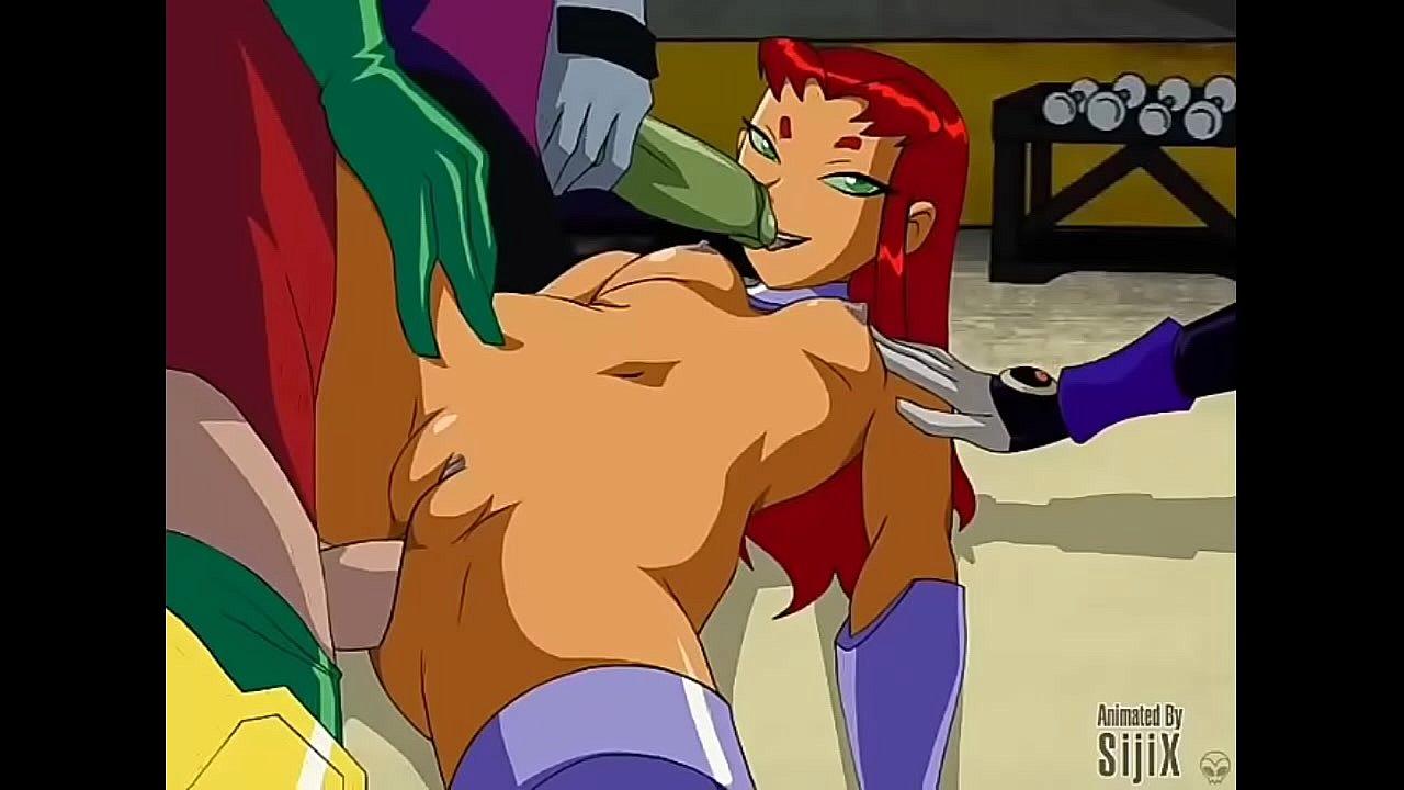 Teen Titans Starfire Beastboy