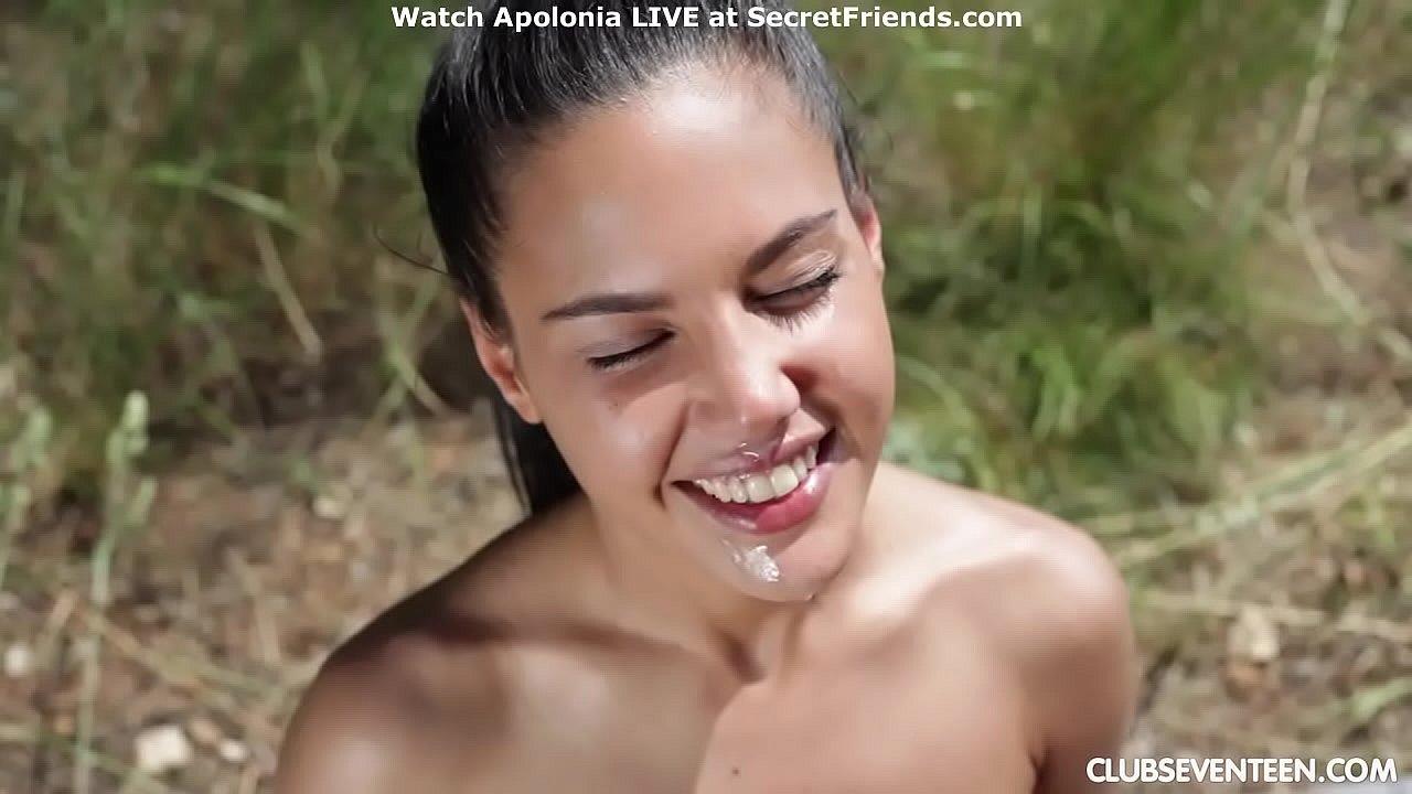 Apolonia Piedra Porno gorgeous apolonia lapierda takes cock outdoor - xnxx