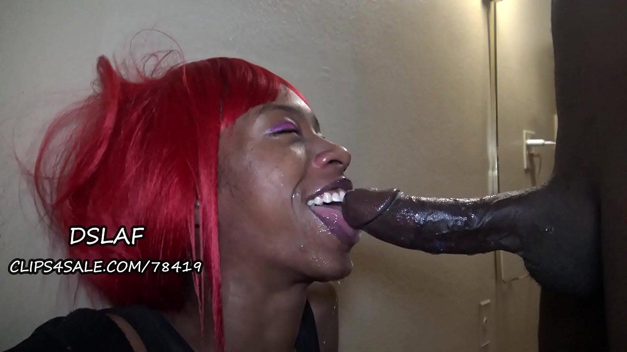 Black Grandma Sucking Dick