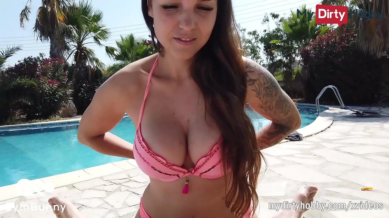 Big Tit Teen Seduces Dad