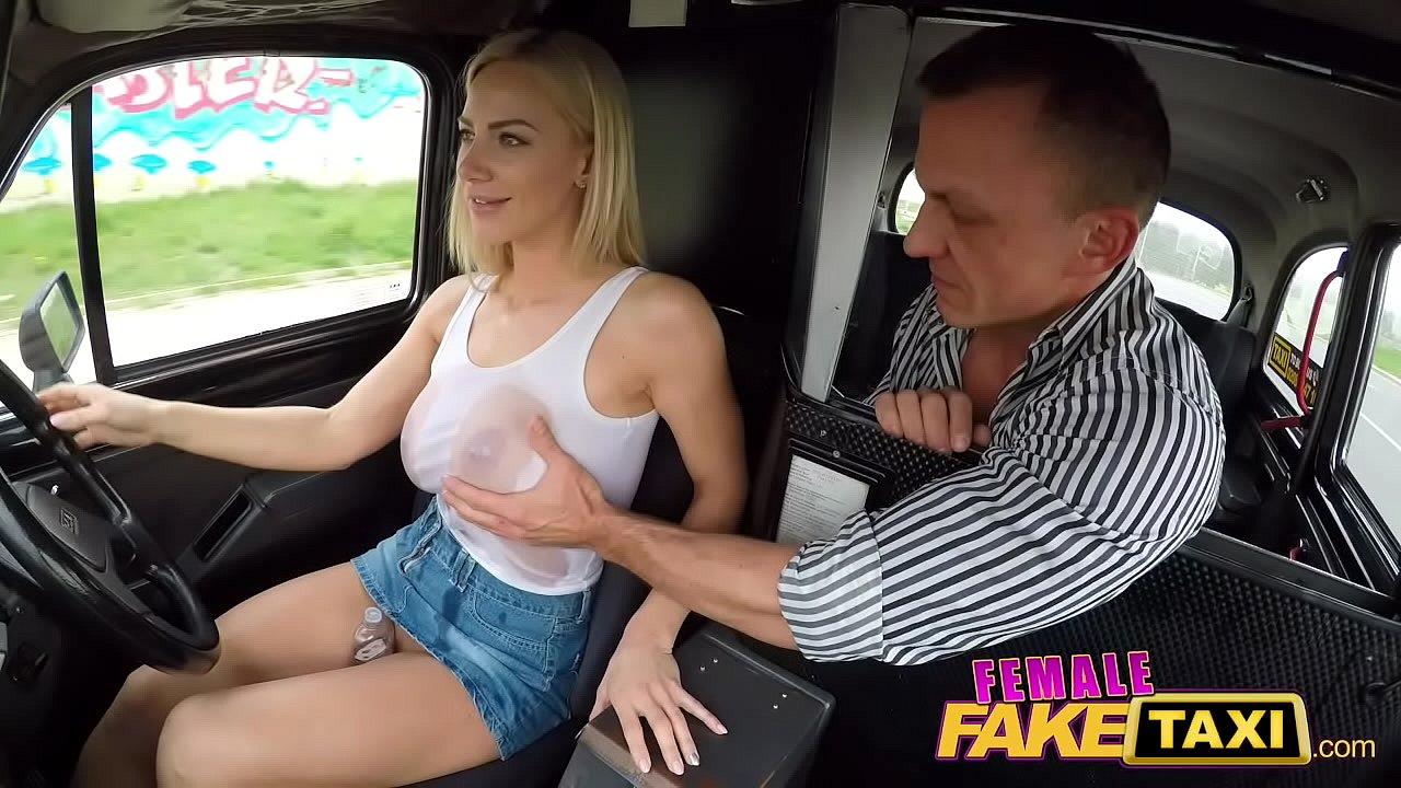 Redhead Big Tits Fake Taxi