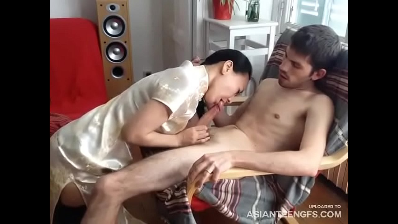 Skinny Teen Riding Cock