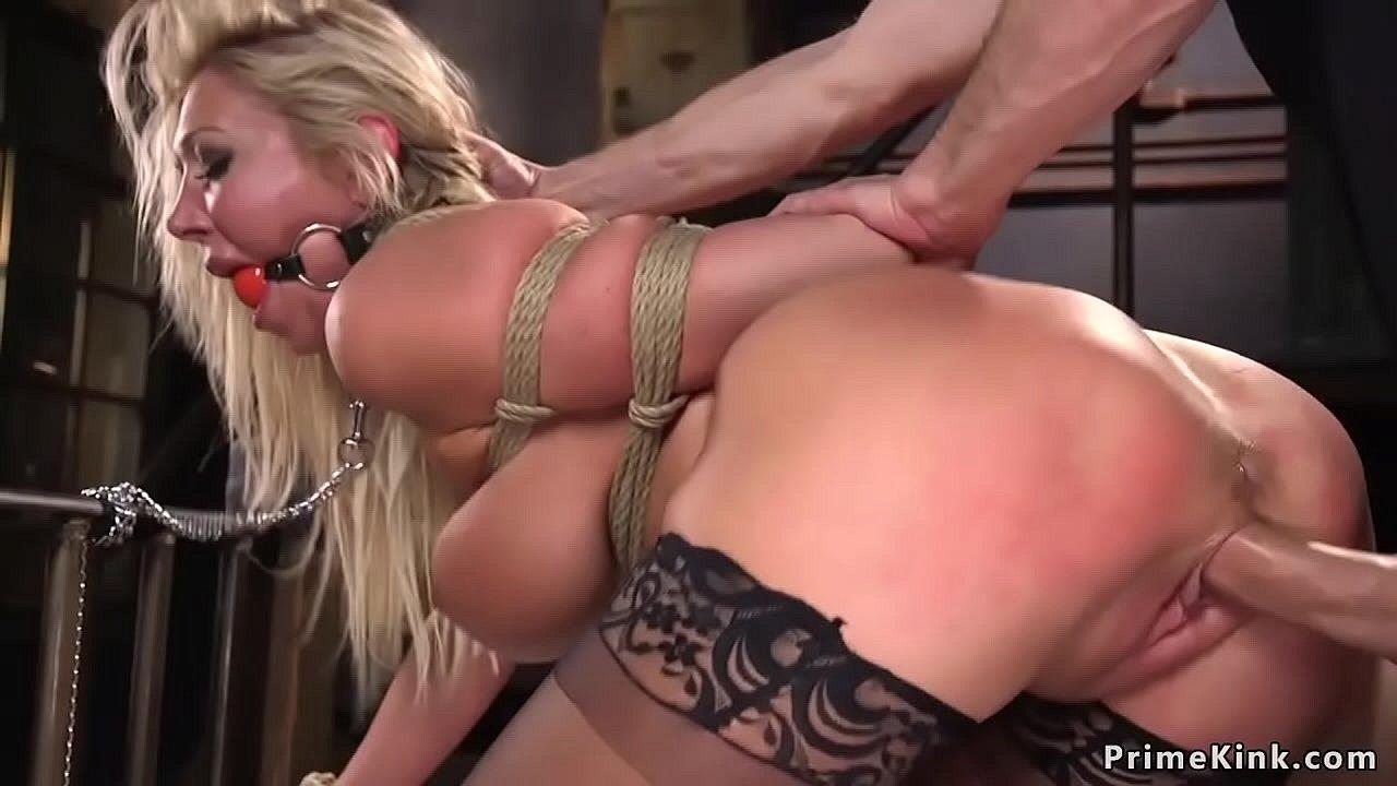 Blonde Big Tits Dildo Squirt