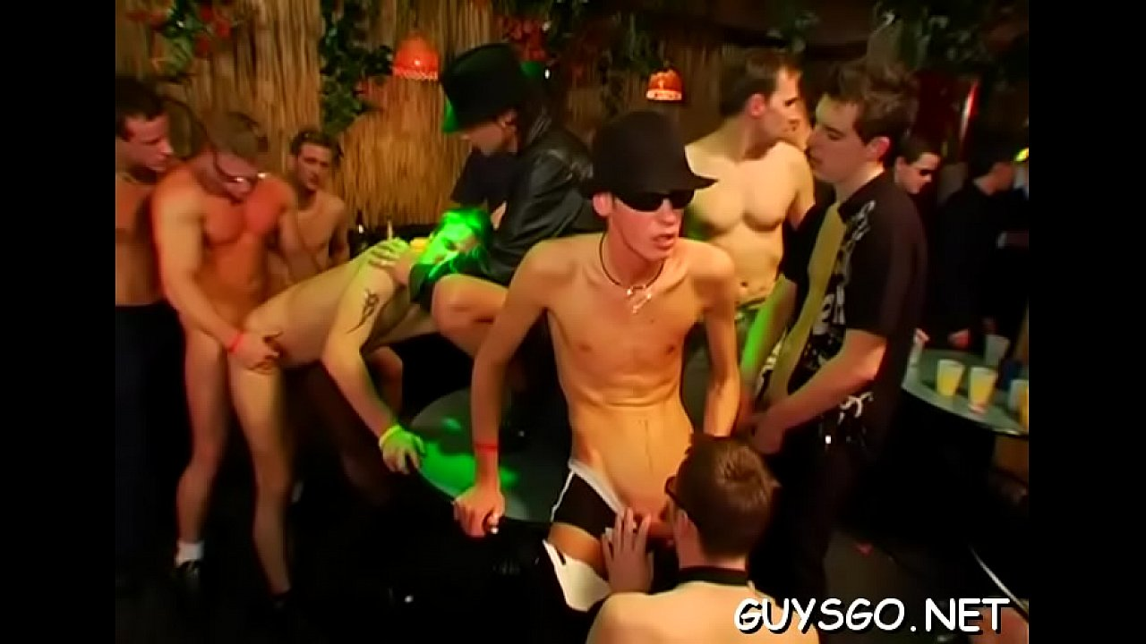 Teen Lesbian Orgy Party