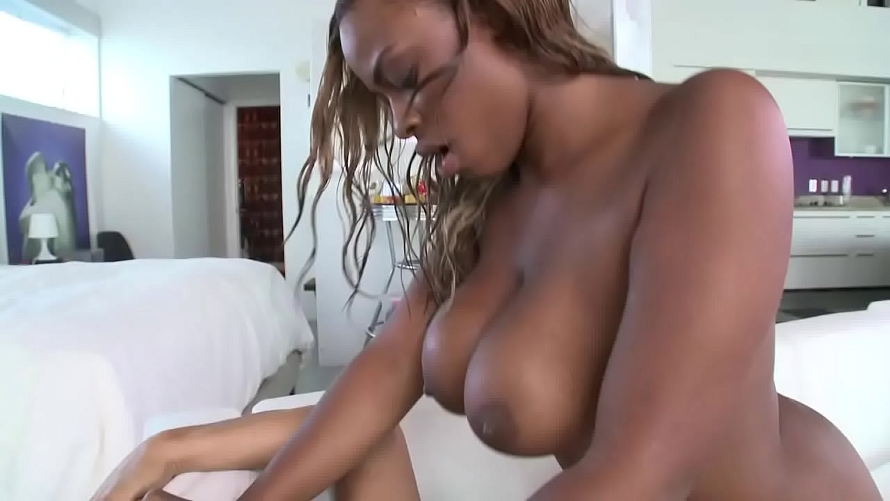 Tiny Ebony Teen Big White Cock