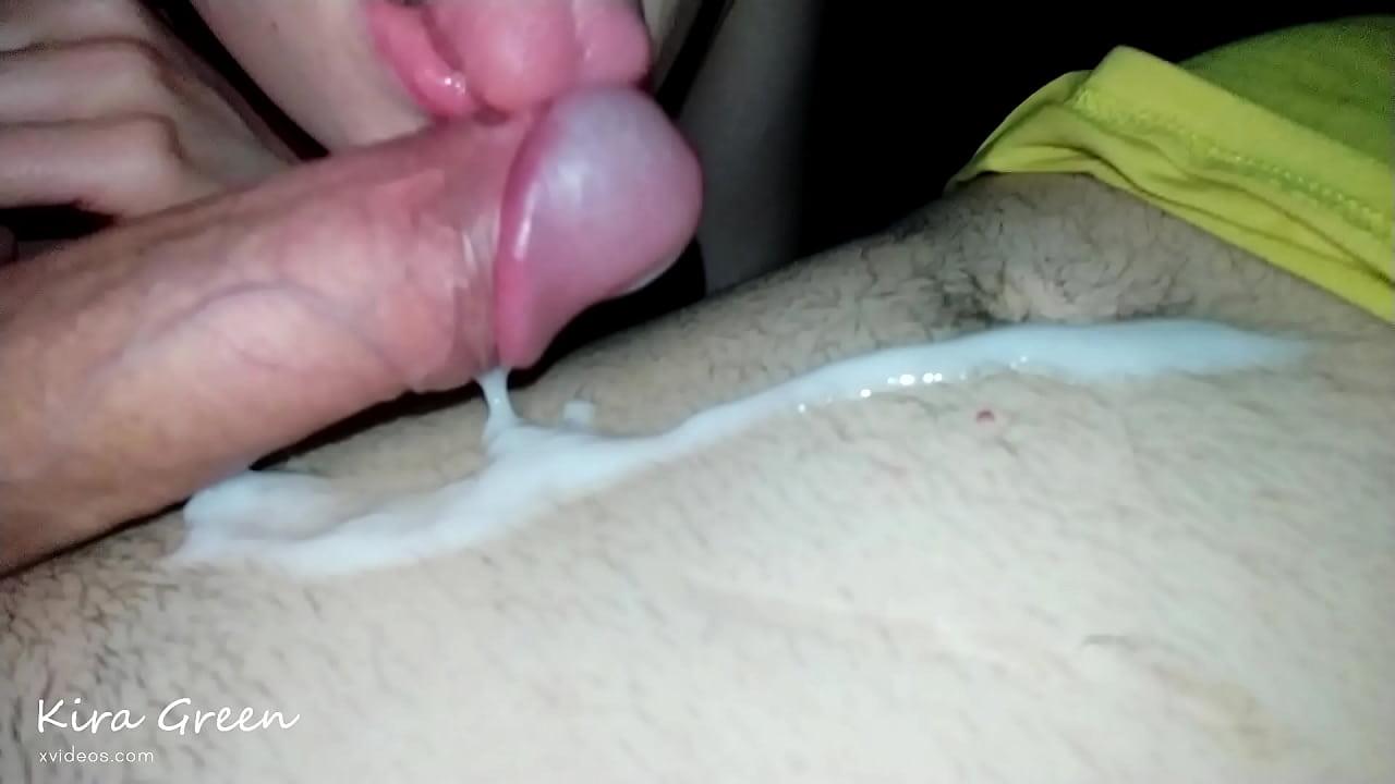 Blonde Babe Swallows Cum