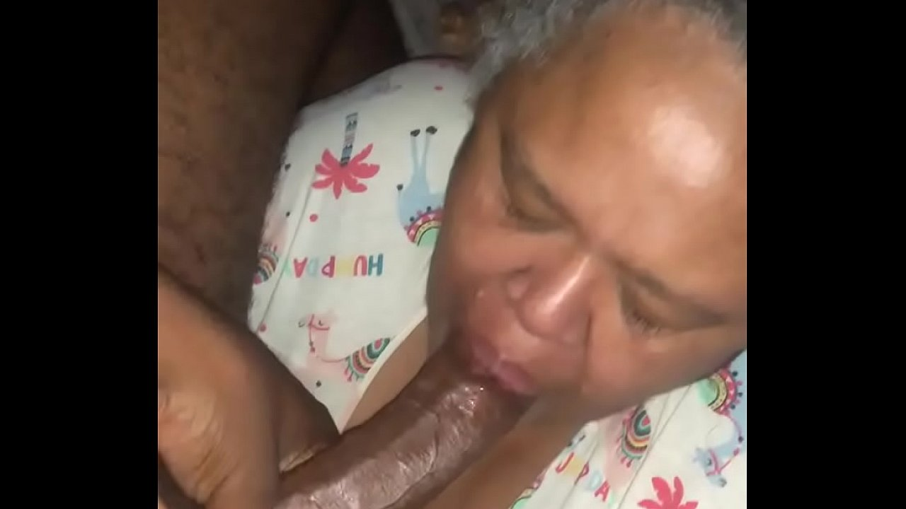 Black Teen Giving Sloppy Head