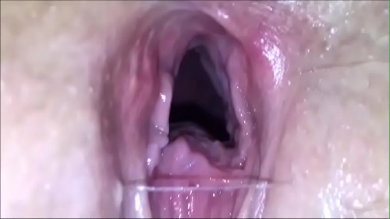 Wet Blonde Pussy Fuck Close Up