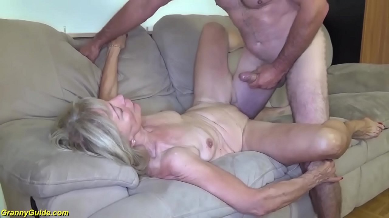 French Skinny Mature Anal