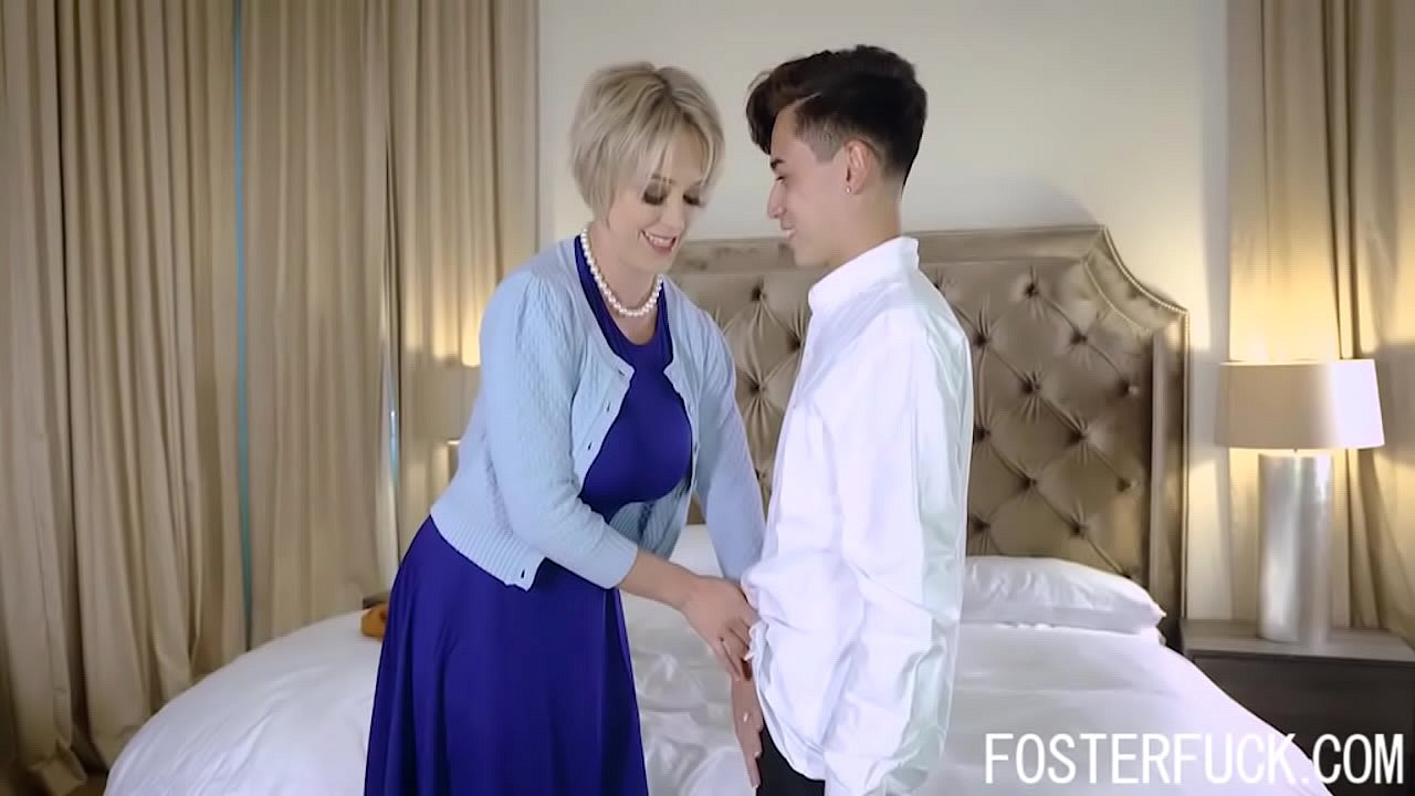 Japanese Son Seduces Mom