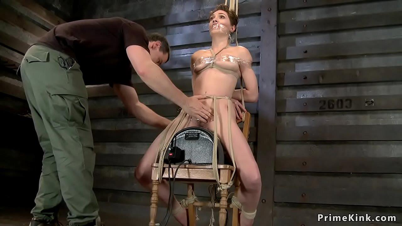 Sexy Girl Riding Sybian