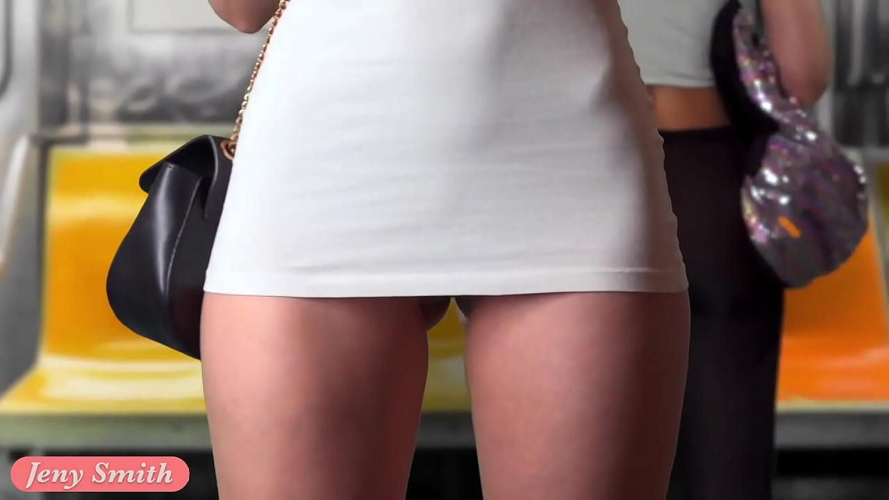 Girl Cums Public Toilet