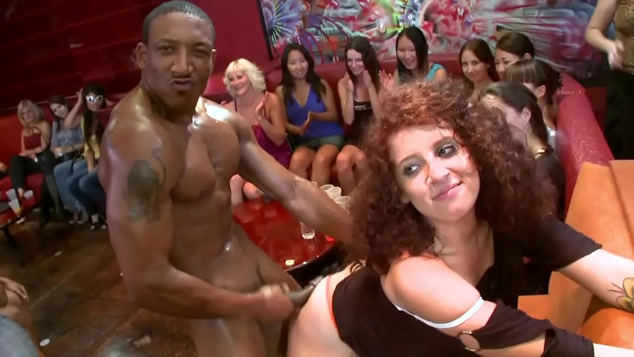 Bear Orgy Porno dancing bear - wild cfnm orgy with big dick male strippers