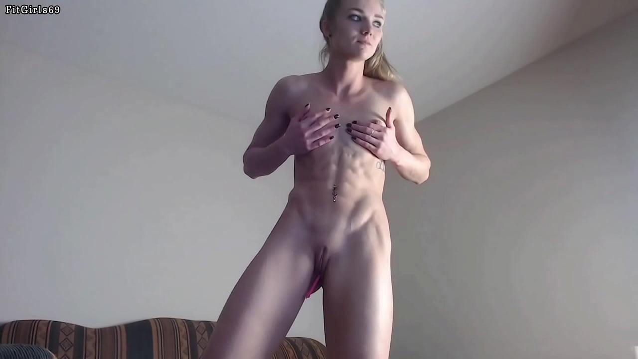 Hot Athletic Blonde Teen