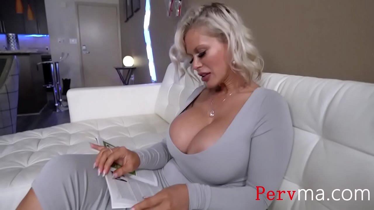 Big Tit Milf Mom Fucks Son