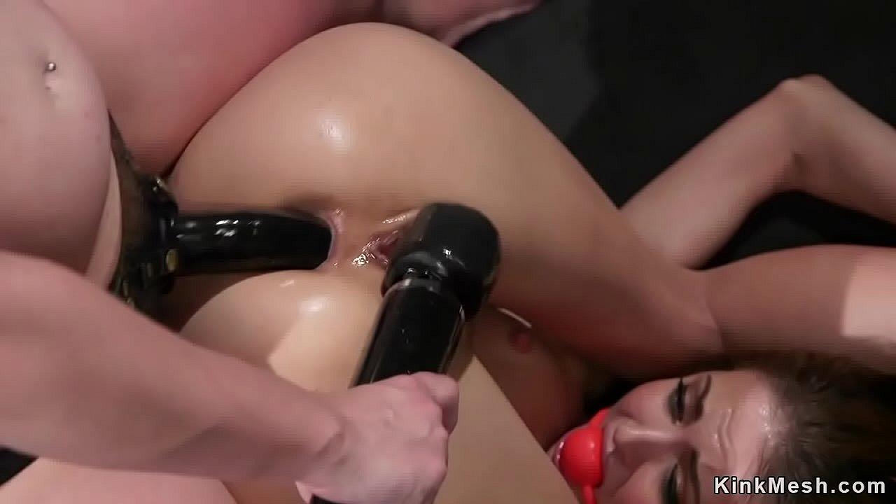 Lesbian Hard Fuck Strap