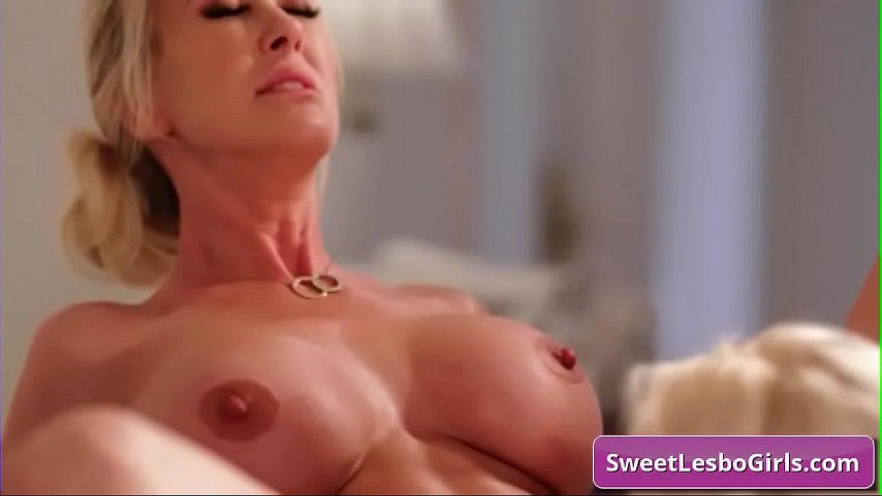 Big Tit Lesbian Licking