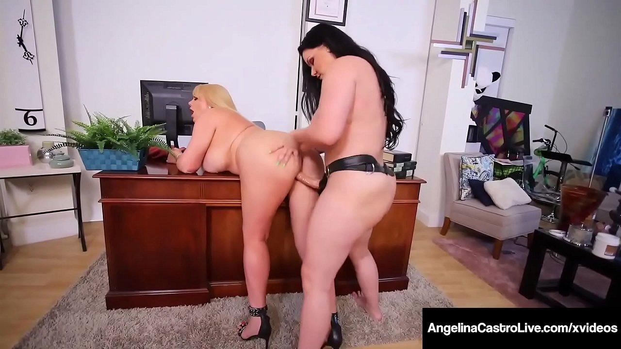 Latina Lesbian Anal Strap