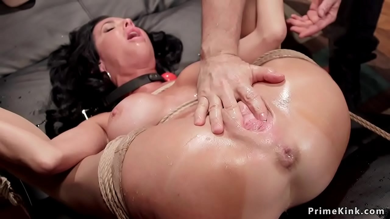 Fingering Ass While Fucking