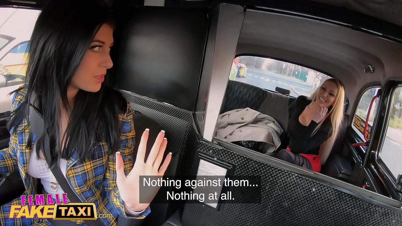 Fake Female Lesbian Taxi
