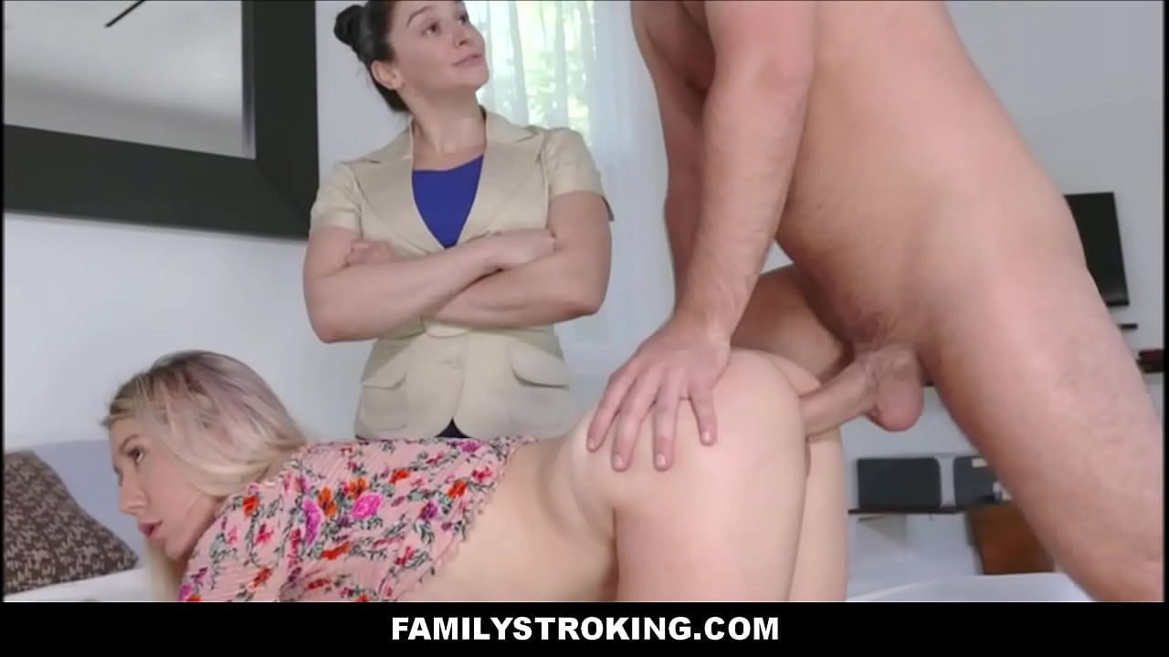 Step Bro Fucks Sister Mom