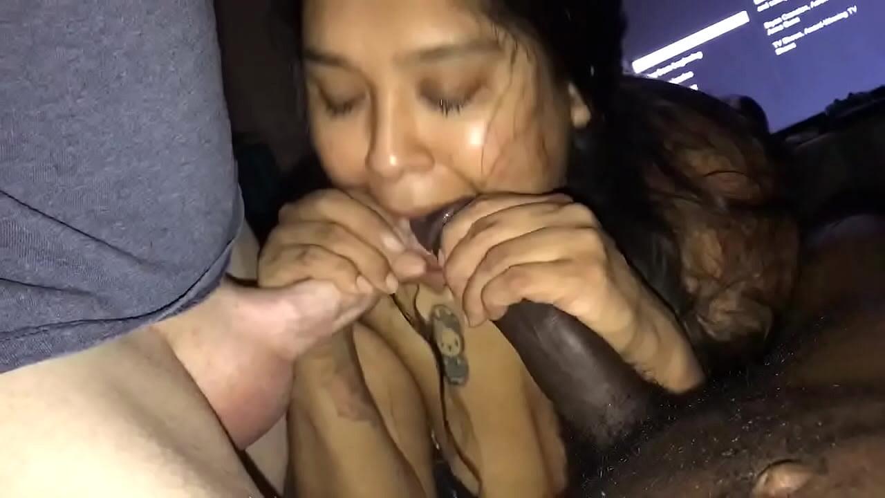 Latina Teen Sloppy Pov Blowjob