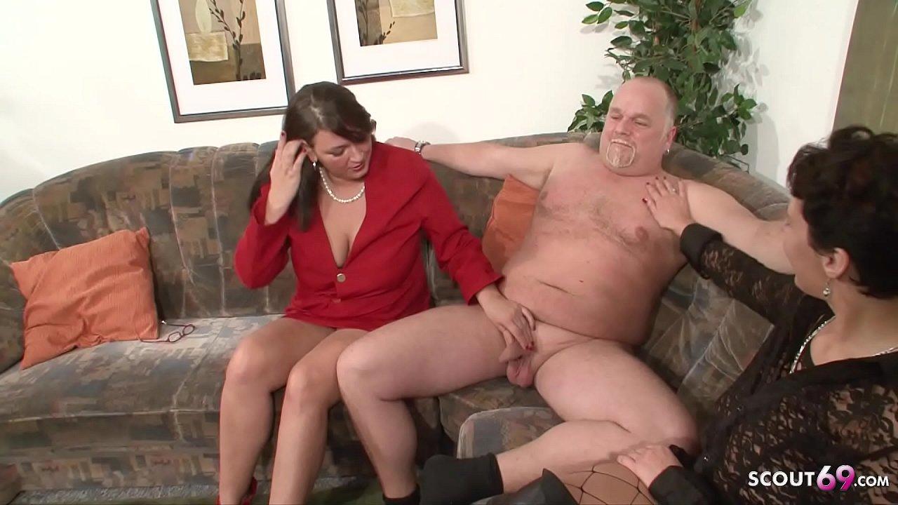 Ehefrau hilft Freund ficken Ehemann