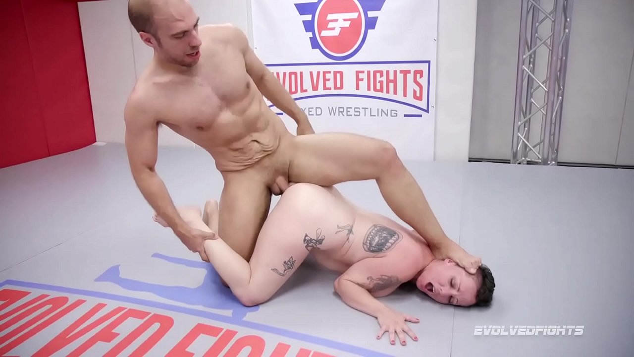 Fight In Porn tattoo babe nikki sequoia mixed naked wrestle fight vs