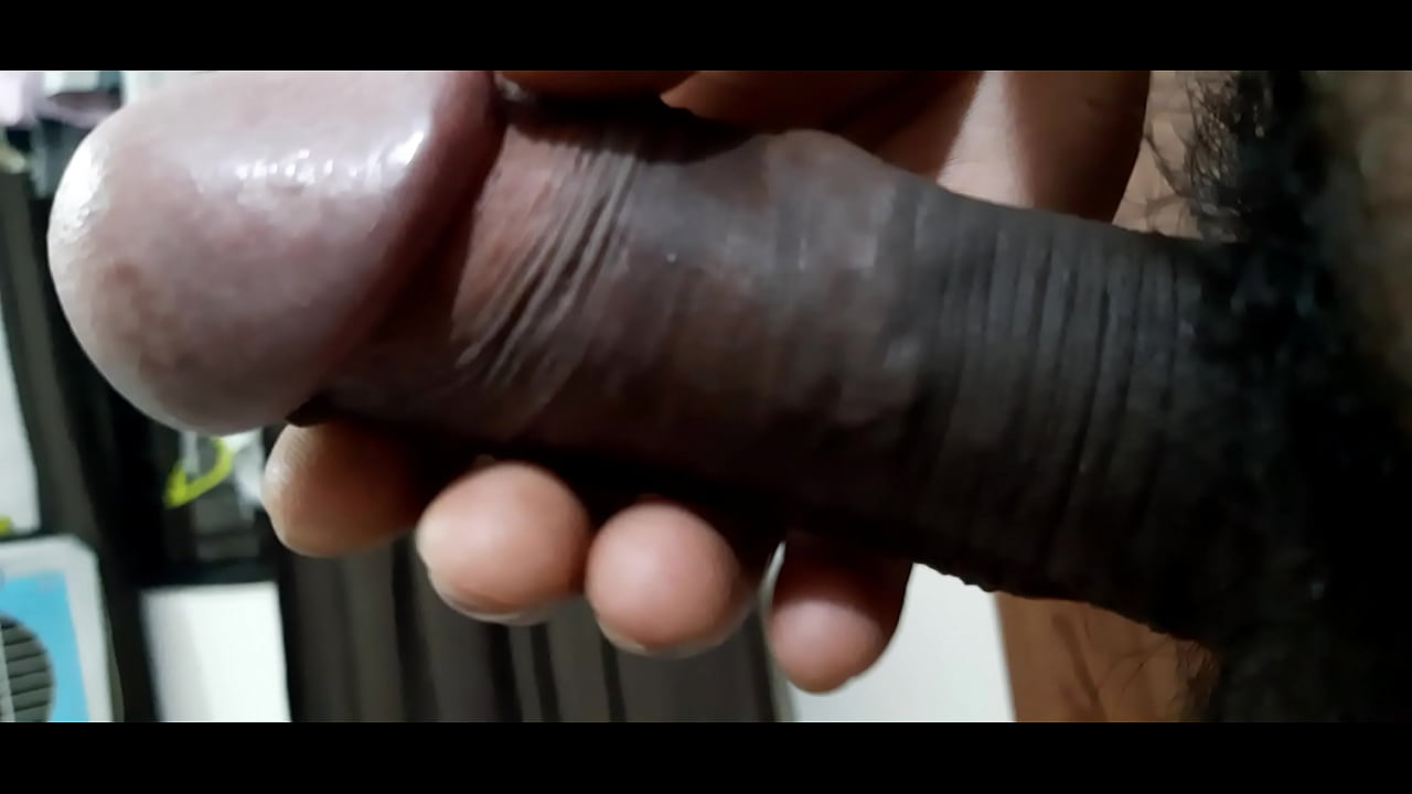 Huge Black Dick Jerking Off