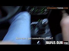 (Jenny Dark) - Driving Blowjob Amateur Girl - Stranded Teens