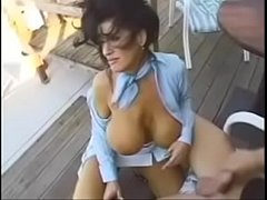 busty vintage babe