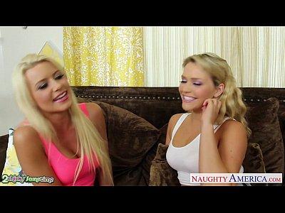 Зрелая блондинка учит молодую, порно 2 блондинки