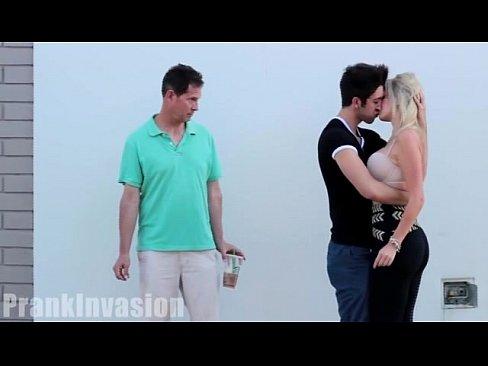Kissing Prank Sex Video