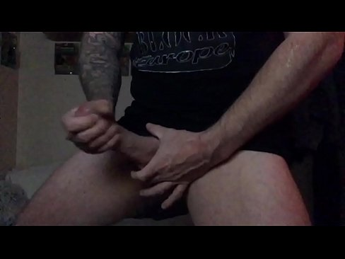 Big White Cock Solo Jerk