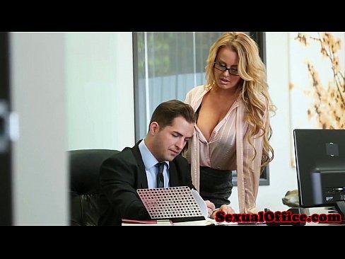 Boss Fucks Secretary Lesbian