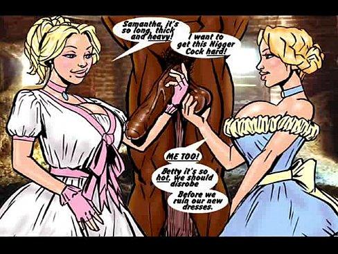 Porn interracial cartoon Cartoon interracial