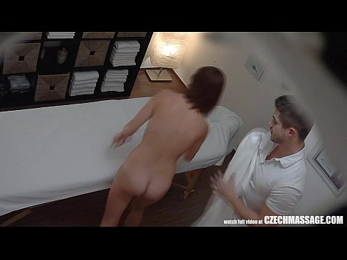 Getting a massage and having sex
