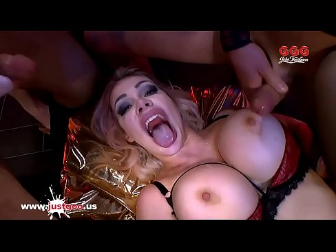 Chessie Kay and Angel Wicky Big Tits and Cum - German Goo Girls