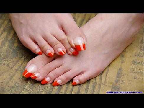 Self Foot Worship Latina