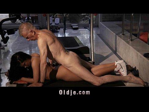Old Man Masturbating Girl